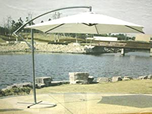 Hanging Umbrella Sunshade - Modern Patio Outdoor from EDMBG