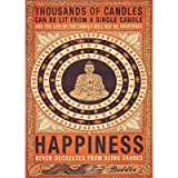 (39x55) Thousands of Candles Buddha Huge Motivational Poster