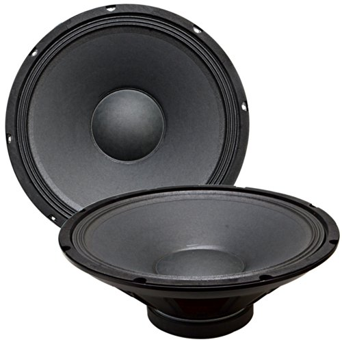 Seismic Audio Quake_15Pair_4_Ohm Raw Woofer Speaker Driver Pro Audio Pa Dj Replacement, 15-Inch
