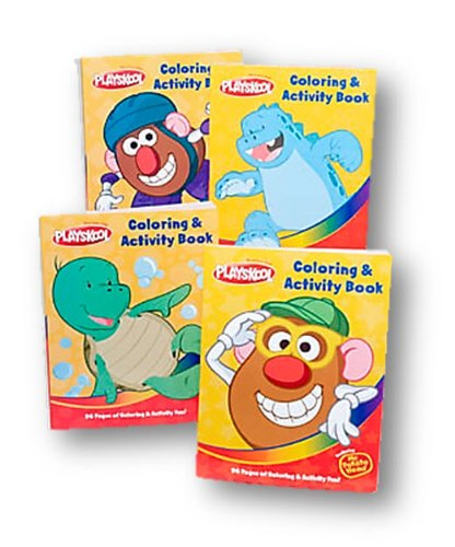 Playskool Coloring Books (4-Pack) 96 Pages Each Book front-1056257