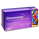 "Aurelia Dimensions 6992 Latex Glove, Powder Free, 9.4"" Length, 5 mils Thick"