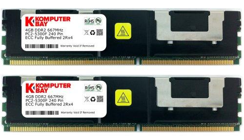 4gb DDR2 667MHz FB DIMM Apple Mac Pro Dual//Quad Core Memory 4x 1gb