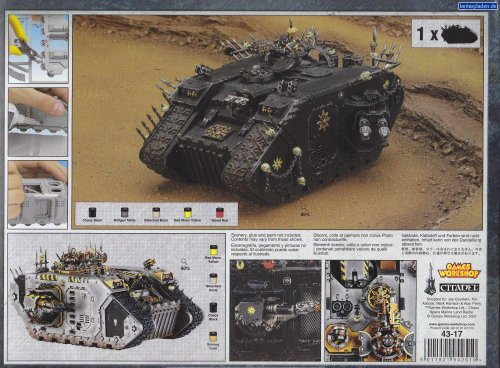 Warhammer 40K: Chaos Space Marine Land Raider