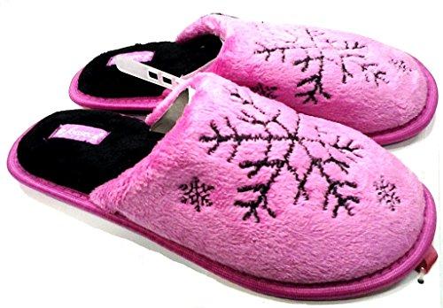 DE FONSECA ciabatte pantofole invernali da donna mod. SNOW DI62 FUCSIA (38/39)
