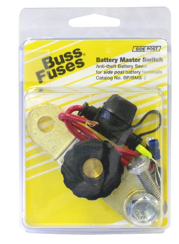 Bussmann BP/BMS-2 Side Post Anti-Theft Battery Master Switch Kit