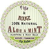 Figs & Rouge: Lip, Face, Hand and Body Balm, Aloe Mint, Balsam Aloe Vera & Minze 17 ml