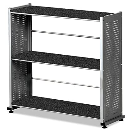"Bookcase 3-Shelf, 31-1/4""x11""x31, Anthracite"