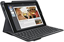 Comprar Logitech Type+ - Funda con teclado integrado para tablet Apple iPad Air 2 - Teclado QWERTY español