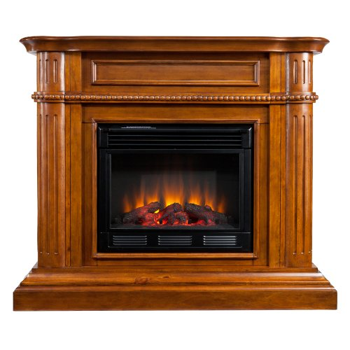 SEI AMZ6769E Brantley Electric Fireplace, Walnut picture B009L1T9I8.jpg