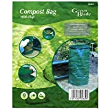 Compost Bag / Bin With Flap & Carry Handles, Folds Awayby Green Blade