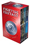 "Fighting Fantasy: ""Warlock of Firetop Mountain"", ""Citadel of Chaos"", ""Deathtrap Dungeon"", ""Creature of Havoc"""