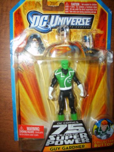 DC Universe Infinite Heroes 75 Years of Super Power Action Figure Green Glow Guy Gardner - 1