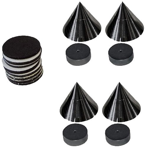 Dynavox-Sub-Watt-Absorber-4er-Set-schwarz