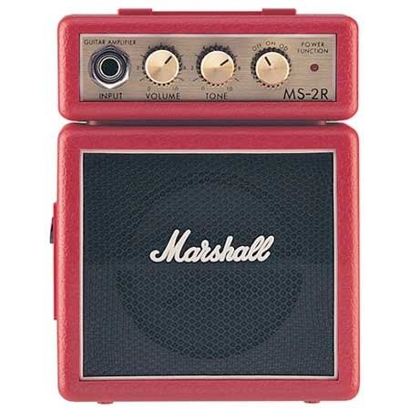Marshall MS-2R Red Micro Practice Amplifier