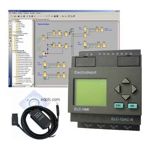 365 Day Smart Timer 4 Channels With 12 Control Inputs For Bas Or Override With Software And Usb Programing Interface #934365