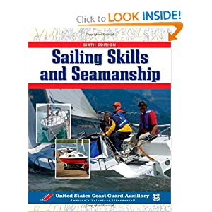 Sailing Skills & Seamanship, BOOK (Us Coast Guard Auxilary Assoc)