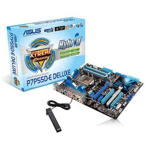Asus P7P55D-E Deluxe Intel LGA1156 Platform Motherboard (DDR3, True SATA 6.0Gb/s Support)
