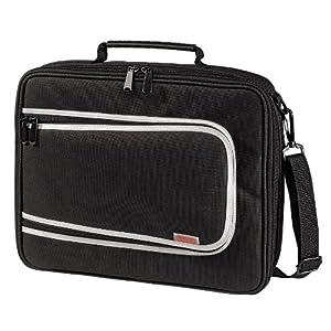 Hama Sac pour disque dur externe ou PC portable 12 et 13 pouces, dim compartiment : 30 x 23.5 x 5 cm. Poche avant pour accessoires.