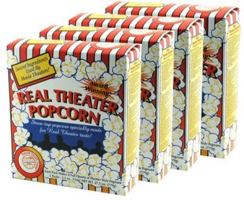 Real Theater Popcorn Kit