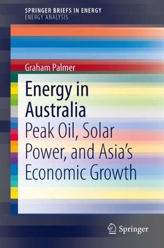 Energy in Australia (SpringerBriefs in Energy)