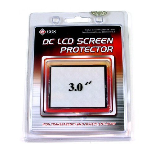 "Ggs Optical Glass Lcd Screen Protector 3"" For Canon Rebel T3I / Eos 600D"