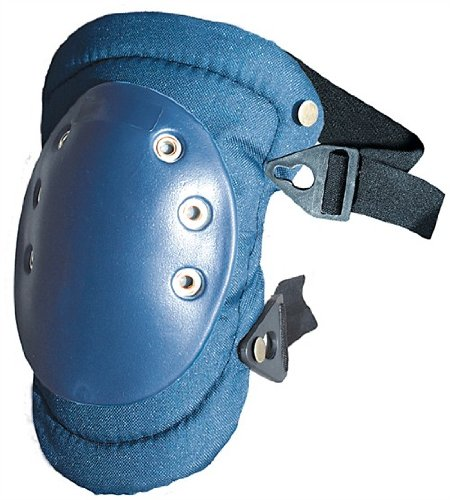 Rubber Cap/Soft Padding Knee Pad with Buckle