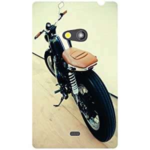 Nokia Lumia 625 - Huge Wheels Phone Cover