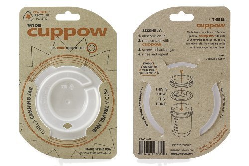 Wide Mouth Cuppow with Straw Tek 60213