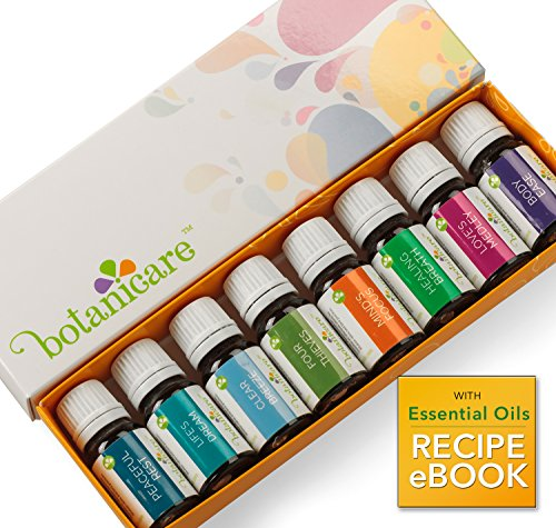 Top-Essential-Oil-Blends-Aromatherapy-Kit-8-10ml-bottles-Great-for-DIY-projects-like-Lotion-Soap-Bath-Bombs-or-Bath-Salts-Also-for-an-Aromatherapy-Diffuser-Perfect-Gift-Set-Includes-dropper