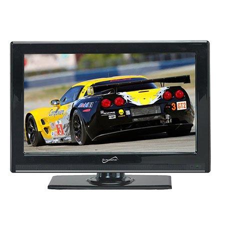 22 Inch Supersonic Sc-2211 12 Volt Ac/Dc Widescreen Full 1080P Hd Led Tv W/ Atsc Digital Tuner