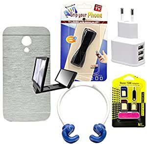 Mify Mobile Accessories for Motorola Moto G, Grey
