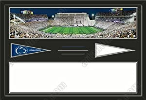 Penn State Nittany Lions Beaver Stadium & Your Choice Of Stadium Panoramic... by Art and More, Davenport, IA