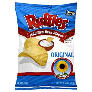 Calories In Whole Bag Of Ruffles Potato Chips Jaguar