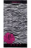 Luxury Oversized Ultimate Beach Towel (Zebralicious)