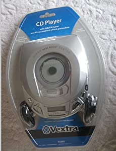 Vextra Cd Player with Am/fm Tuner and 45-second Anti-shock Protection