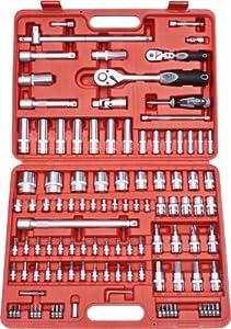Famex 530SD21 Steckschlüsselsatz, 12,5mm (1/2Zoll) und 6,3mm (1/4Zoll)Antrieb, 432mm, 112teilig  BaumarktÜberprüfung und Beschreibung
