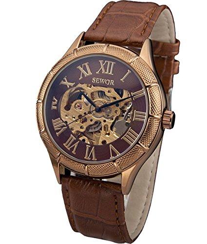 sewor-rose-gold-orologio-da-polso-uomocuoiomeccanico-c793