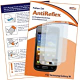 "2 x mumbi Displayschutzfolie Samsung Galaxy W I8150 Displayschutz ""AntiReflex"" antireflektierend"