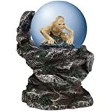 Westland Giftware Water Globe Figurine, 65mm, Lord of The Rings Gollum Cliffside
