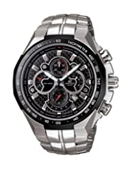 Casio Edifice Analog Black Dial Men's Watch - EF-554SP-1AVDF (EX007)