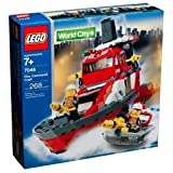Lego City Fire Rescue Fire Command Craft (7046)