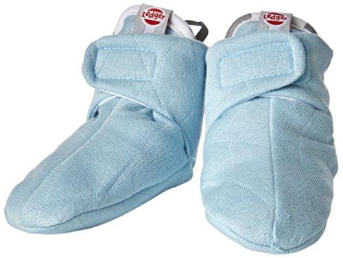 Lodger-Pantofole in cotone, trapuntato, 3-6 mesi, Silvercreek)