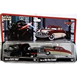 Disney Star Wars Pixar Cars Doc Hudson as Obi-Wan Kenobi & Mater as Darth Vader 2-Pack 1/55 Die-Cast Series 2 - Theme Park Exclusive Limited Edition