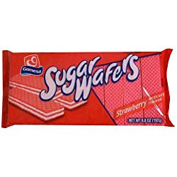Gamesa, Wafer Strawberry, 6.77 OZ (Pack of 12)