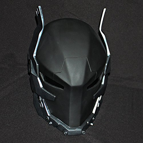 1:1 Halloween Costume Cosplay Red Hood Mask Batman Arkham Knight Helmet MA202