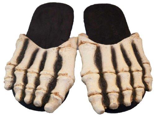 Billy Bob Teeth - Skeleton Feet Adult Costume - Standard One-Size front-591018