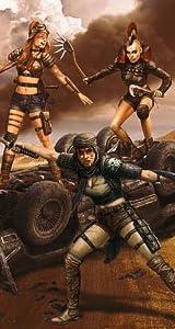 1/35 デスエンジェルス女性戦士4体-Desert Battleシリーズーファンタジー