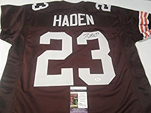 Joe Haden Cleveland Browns Signed Autographed Jersey Authentic Certified Coa JSA
