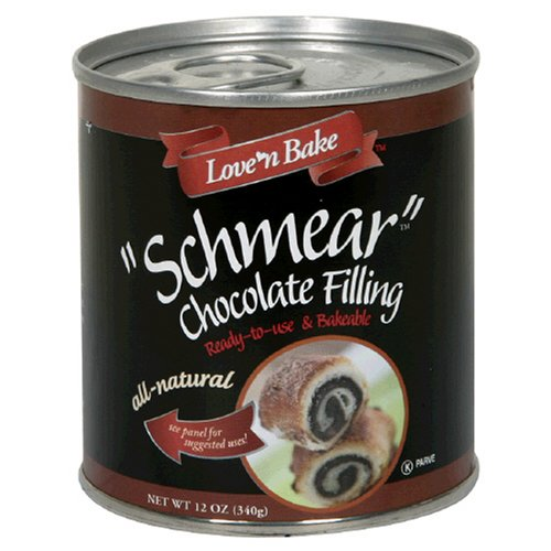 Buy Love 'N Bake Schmear Chocolate Filling, All Natural , 12-Ounce Can (Pack of 6) (Love 'n Bake, Health & Personal Care, Products, Food & Snacks, Baking Supplies, Pie & Cobbler Fillings)