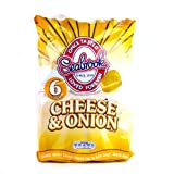 Seabrook Cheese & Onion Crisps 6 Pack 150g